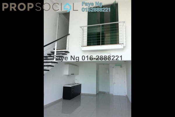 For Rent Condominium at The Scott Soho, Old Klang Road Freehold Semi Furnished 1R/1B 1.6k