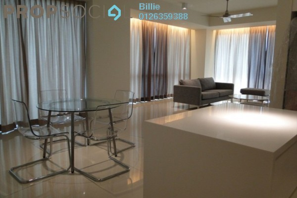 For Rent Condominium at Hampshire Place, KLCC Freehold Semi Furnished 2R/2B 6k