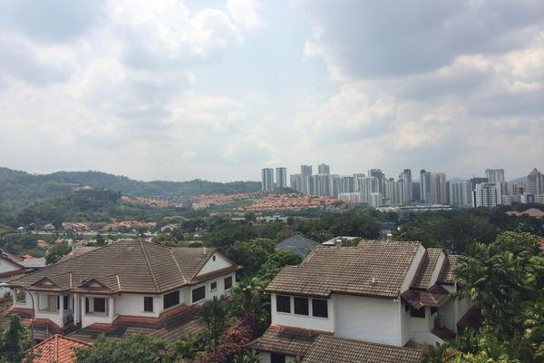 For Sale Bungalow at Taman Bukit Damansara, Damansara Heights Freehold Semi Furnished 6R/4B 7.6m