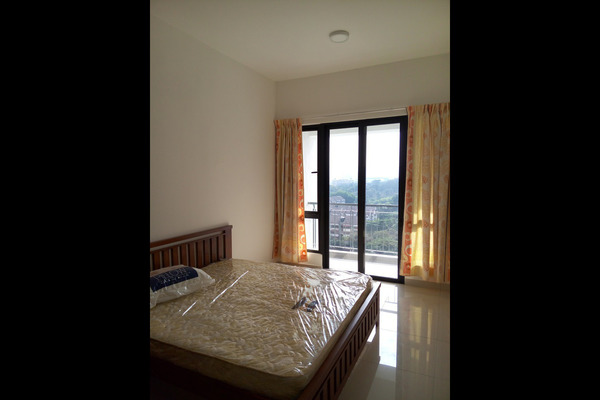 For Rent Condominium at Vila Vista, Cheras Leasehold Semi Furnished 0R/1B 1k