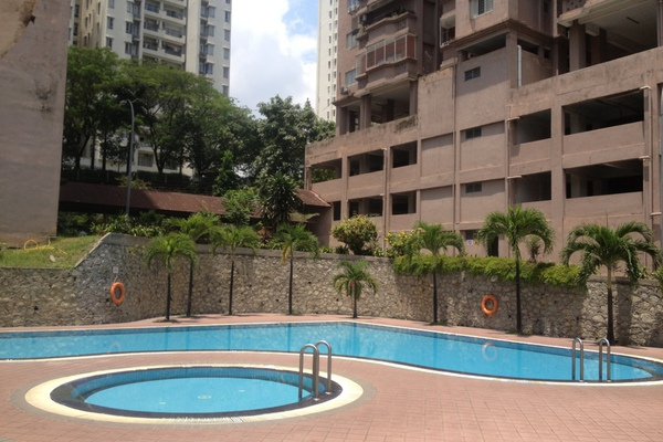For Rent Condominium at Midah Ria, Cheras Freehold Semi Furnished 3R/2B 1.35k
