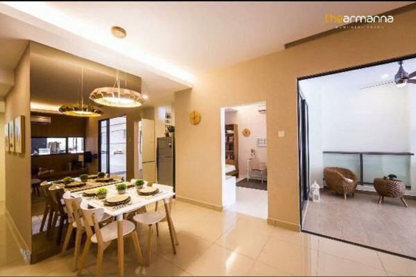 For Sale Condominium at The Lakes Condominiums, Kota Kemuning Freehold Unfurnished 3R/2B 520k