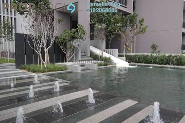 For Sale Condominium at Azelia Residence, Bandar Sri Damansara Freehold Semi Furnished 4R/4B 960k