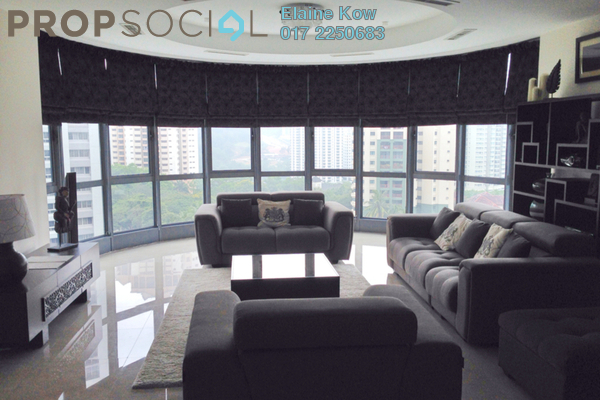 For Rent Condominium at 11 Mont Kiara, Mont Kiara Freehold Semi Furnished 3R/3B 9.5k