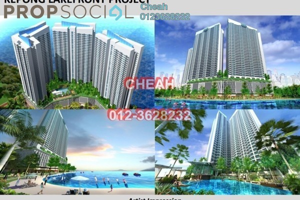 For Sale Serviced Residence at Mizumi Residences, Kepong Leasehold Unfurnished 3R/2B 390k