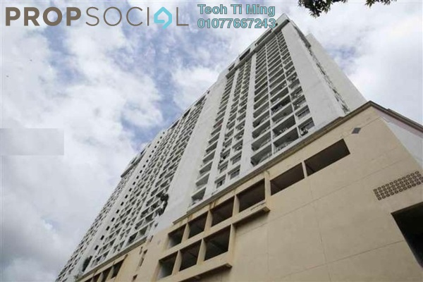 For Rent Condominium at Pearl Point Condominium, Old Klang Road Freehold Fully Furnished 3R/2B 1.6k