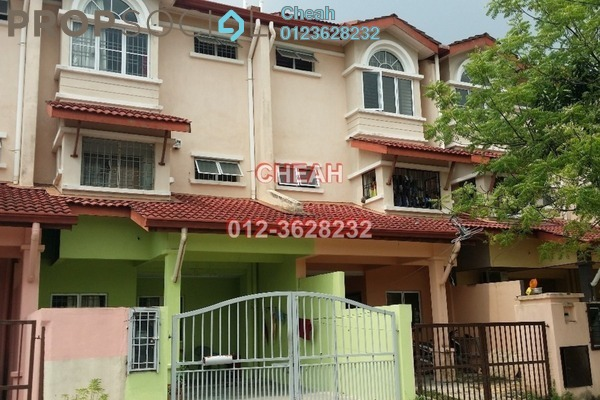 For Sale Terrace at Taman Subang Pelangi, Subang Leasehold Unfurnished 4R/4B 650k