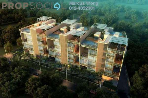 For Sale Duplex at Amarin Wickham, Ampang Hilir Leasehold Semi Furnished 3R/6B 3.7m