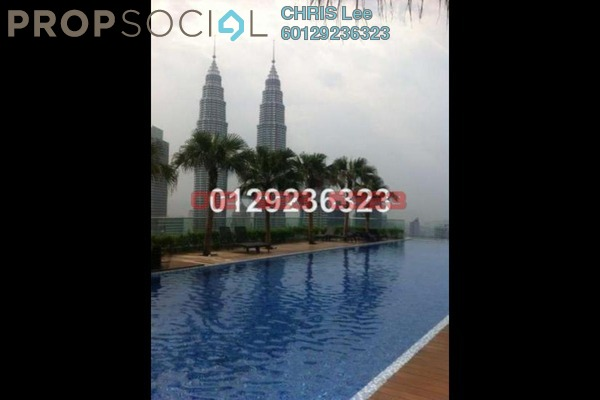 For Sale Condominium at Quadro Residences, KLCC Freehold Semi Furnished 4R/4B 2.39m