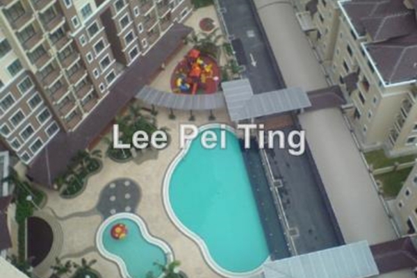 For Rent Condominium at Casa Indah 1, Tropicana Leasehold Semi Furnished 3R/2B 2.1k