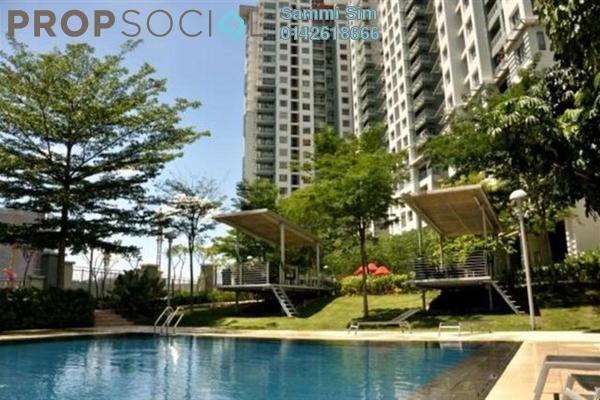 For Sale Condominium at Metropolitan Square, Damansara Perdana Leasehold Semi Furnished 2R/1B 418k