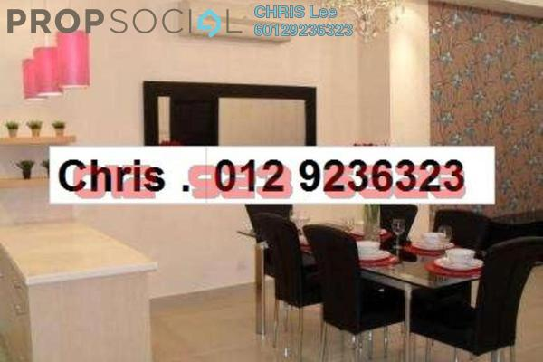 For Sale Condominium at One Residency, Bukit Ceylon Freehold Fully Furnished 1R/1B 985k