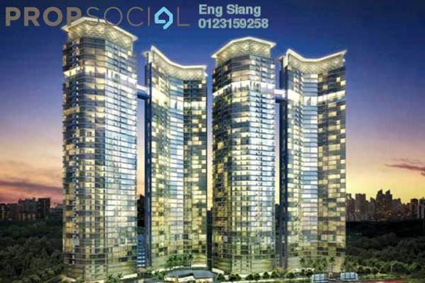 For Rent Condominium at Setia Sky Residences, KLCC Leasehold Semi Furnished 1R/2B 3.8k