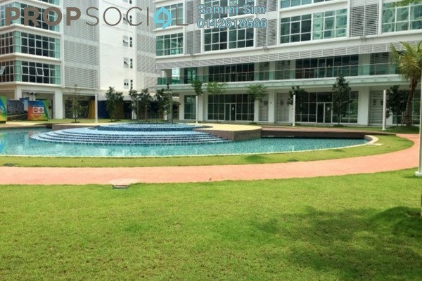 For Rent SoHo/Studio at Centum, Ara Damansara Freehold Semi Furnished 0R/2B 1.5k