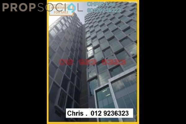 For Sale SoHo/Studio at Soho Suites, KLCC Freehold Semi Furnished 1R/1B 810k