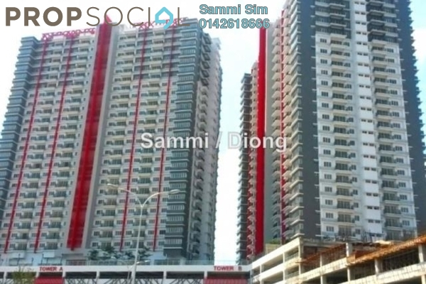 For Rent Condominium at Koi Prima, Puchong Leasehold Semi Furnished 3R/2B 1k