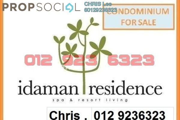 For Sale Condominium at Idaman Residence, KLCC Freehold Fully Furnished 2R/2B 1.4百万