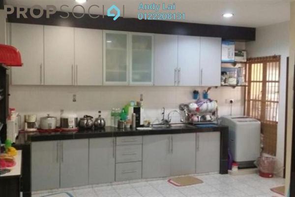 For Sale Terrace at Taman Segar Perdana, Cheras Leasehold Semi Furnished 4R/3B 838k