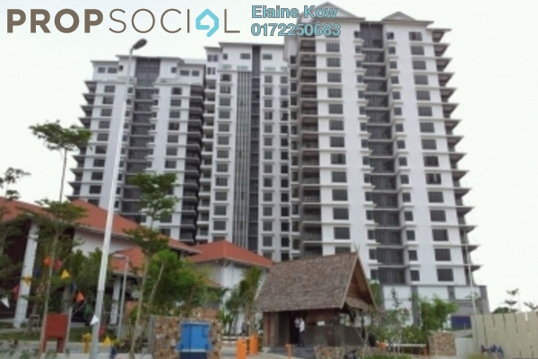 For Sale Condominium at Atmosfera, Bandar Puchong Jaya Freehold Semi Furnished 3R/2B 620k
