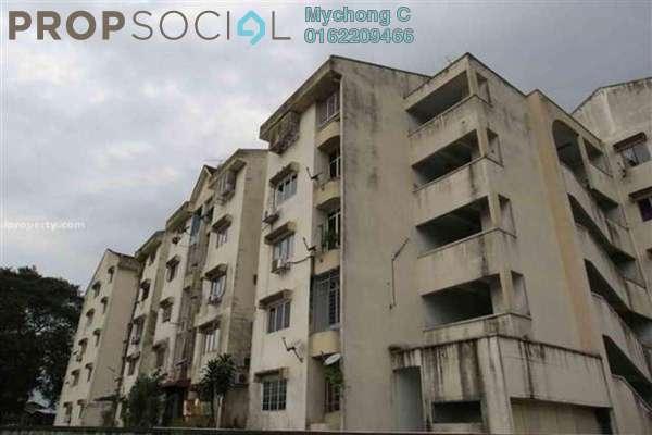 For Rent Apartment at Medan Intan Apartment, Setapak Freehold Unfurnished 3R/2B 1.25k