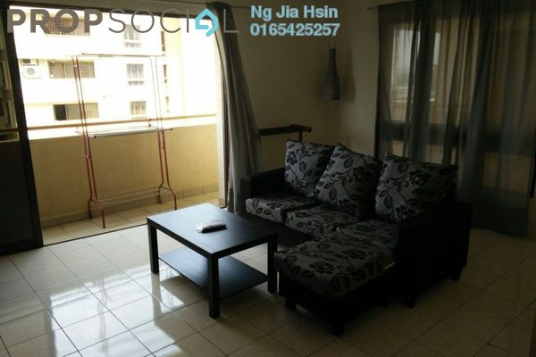 For Rent Condominium at Palm Spring, Kota Damansara Leasehold Fully Furnished 3R/2B 1.7k
