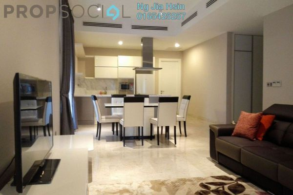 For Rent Condominium at Icon Residence, Dutamas Freehold Fully Furnished 2R/2B 5k