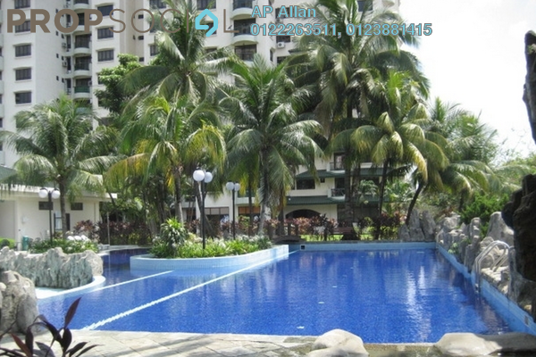 For Sale Condominium at Mutiara Oriental, Tropicana Freehold Semi Furnished 4R/3B 1.39m