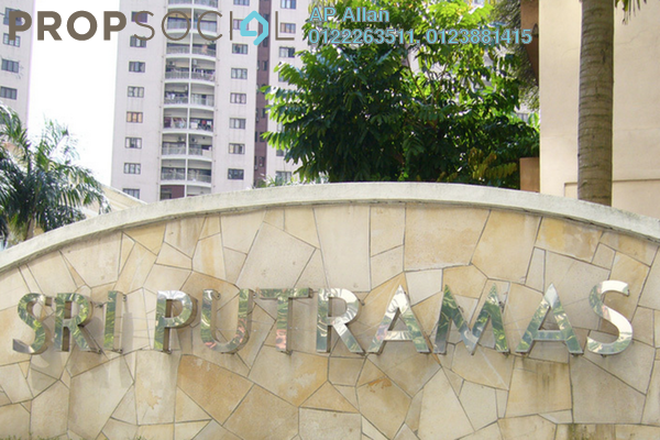 For Sale Condominium at Sri Putramas I, Dutamas Freehold Semi Furnished 3R/2B 500k
