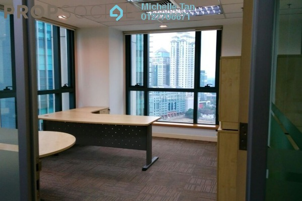For Rent Office at GTower, KLCC Freehold Fully Furnished 0R/0B 69.3k