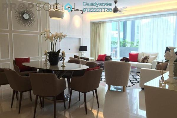 For Rent Condominium at Verticas Residensi, Bukit Ceylon Freehold Fully Furnished 4R/4B 13k