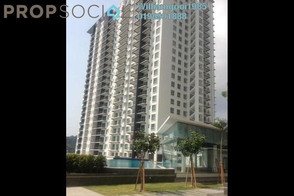 For Rent Condominium at Elit Heights, Bayan Baru Freehold Semi Furnished 3R/2B 1.2k