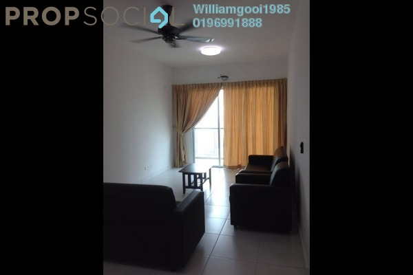 For Rent Condominium at Elit Heights, Bayan Baru Freehold Semi Furnished 3R/2B 1.7k