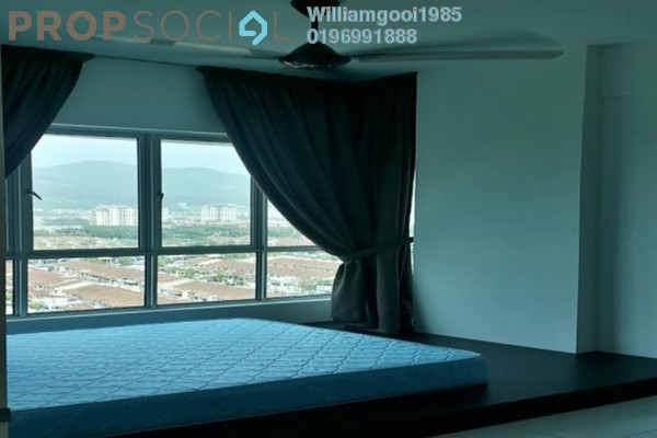 For Rent Condominium at Elit Heights, Bayan Baru Freehold Semi Furnished 3R/2B 1.85k