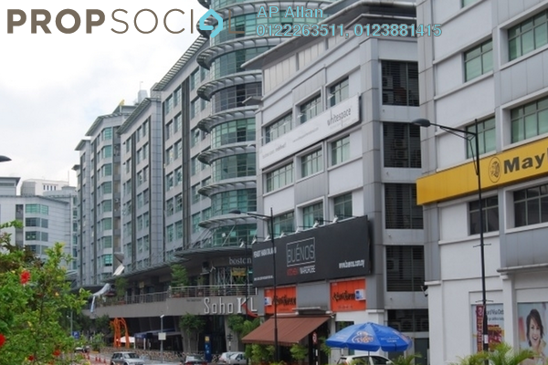 For Sale Office at Solaris Mont Kiara, Mont Kiara Freehold Fully Furnished 0R/0B 1.2m