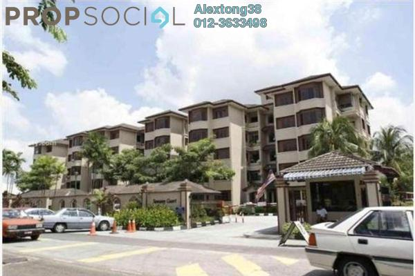 For Sale Condominium at Sunway Court, Bandar Sunway Leasehold Semi Furnished 3R/2B 450k