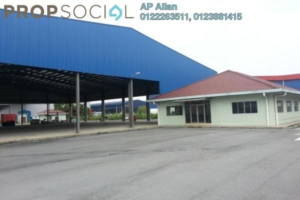 For Sale Factory at Pulau Indah Industrial Park, Port Klang Leasehold Semi Furnished 0R/0B 8.5m