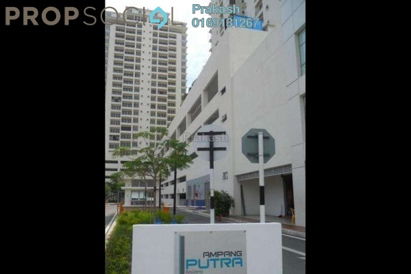 For Rent Condominium at Ampang Putra Residency, Ampang Leasehold Fully Furnished 1R/1B 1.7k