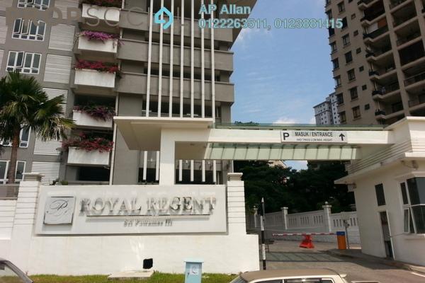 For Sale Condominium at Royal Regent, Dutamas Freehold Semi Furnished 3R/2B 550k