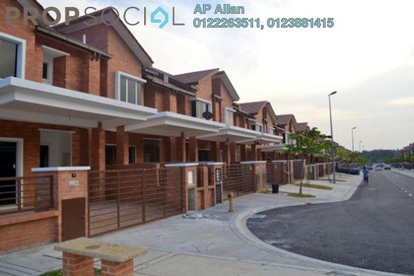 For Sale Terrace at Alam Budiman, Shah Alam Leasehold  4R/4B 550k
