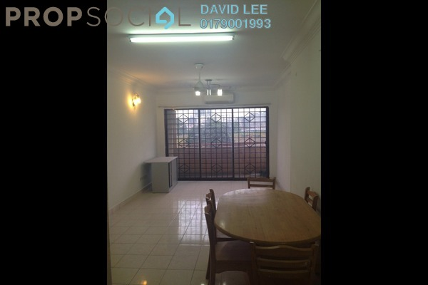 For Rent Condominium at Palm Spring, Kota Damansara Leasehold Semi Furnished 3R/2B 1.5k
