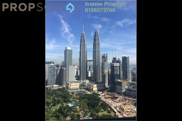 For Sale Condominium at The Binjai On The Park, KLCC Freehold Semi Furnished 4R/0B 15m