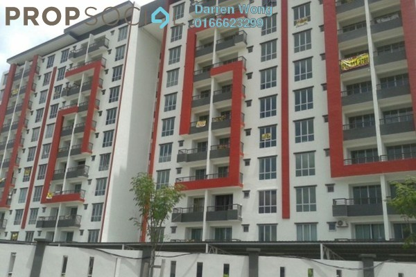 For Sale Apartment at Green Suria Apartment, Bandar Tun Hussein Onn Freehold Unfurnished 3R/2B 390k