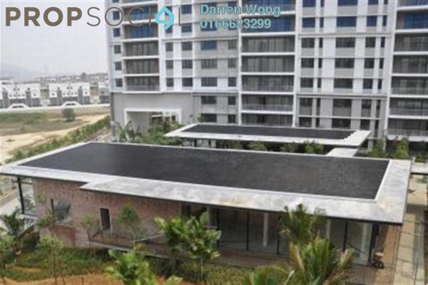 For Sale Condominium at Windows On The Park, Bandar Tun Hussein Onn Freehold Semi Furnished 3R/2B 640k