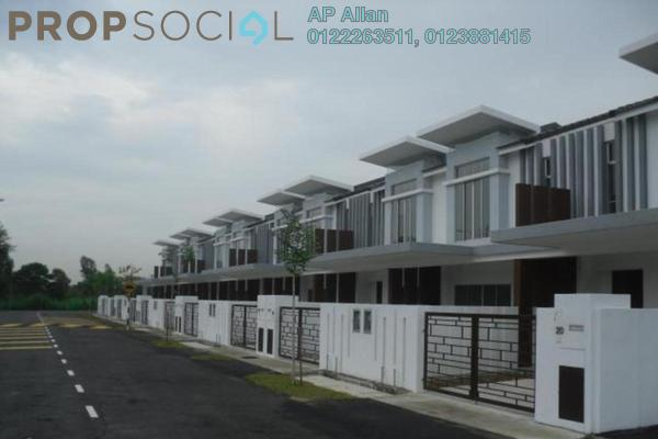 For Sale Terrace at Taman Puchong Prima, Puchong Freehold Fully Furnished 4R/3B 670k