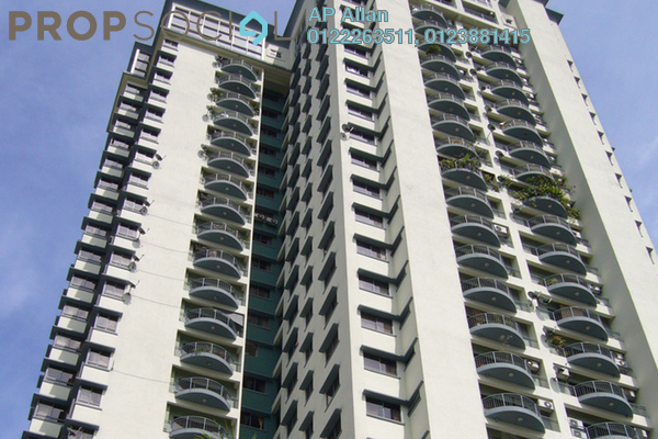 For Rent Condominium at Menara Bukit Ceylon, Bukit Ceylon Freehold Fully Furnished 2R/1B 3.5k