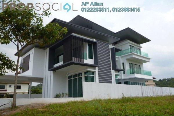 For Rent Bungalow at Bluwater Estate, Seri Kembangan Leasehold Semi Furnished 5R/4B 15k
