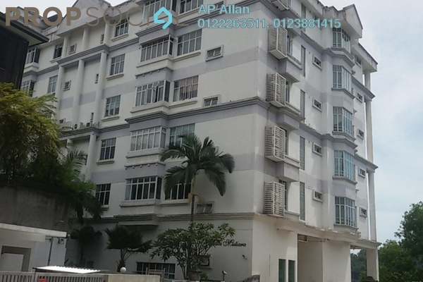For Rent Condominium at Villa Mutiara, Bangsar Freehold Semi Furnished 4R/3B 6.8k