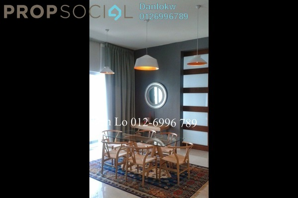 For Rent Condominium at Dua Residency, KLCC Freehold Fully Furnished 2R/2B 8k