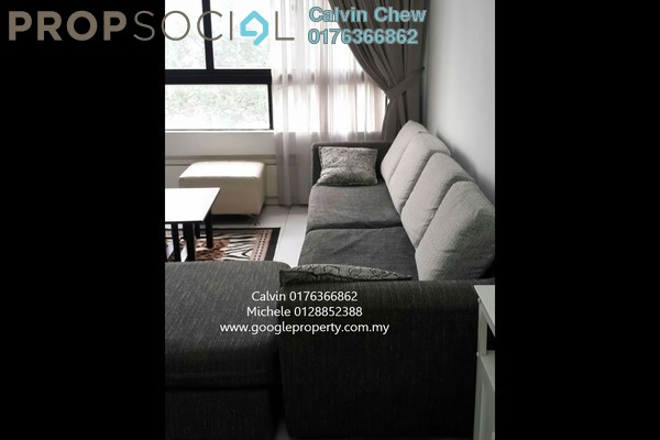 For Rent Condominium at Mont Kiara Pines, Mont Kiara Freehold Fully Furnished 3R/2B 3.8k