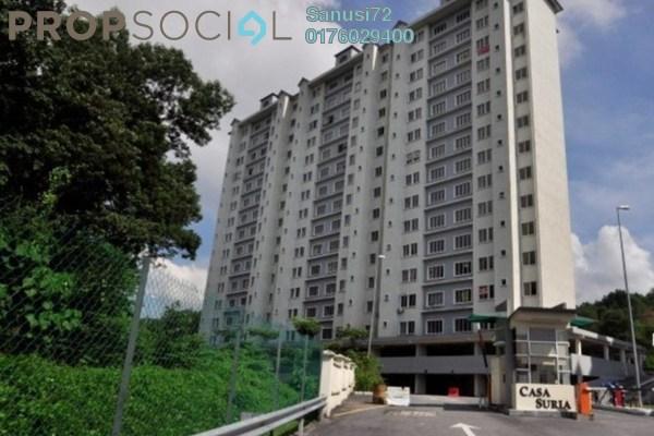 For Rent Condominium at Casa Suria, Batu 9 Cheras Leasehold Unfurnished 3R/2B 1k